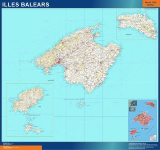 Spanien Kort Kob Store Vaegkort Af Verden Og Danmark